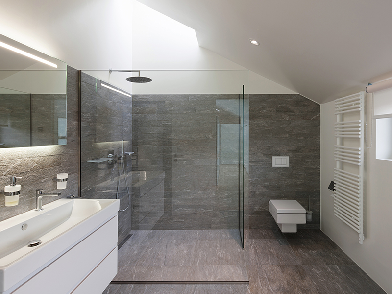 Shower screen - Double Glazing Bedford Splashbacks, Mirrors and Shower screens Bedfordshire | Clearglaze